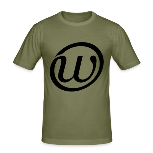 shirts waskracht - Mannen slim fit T-shirt