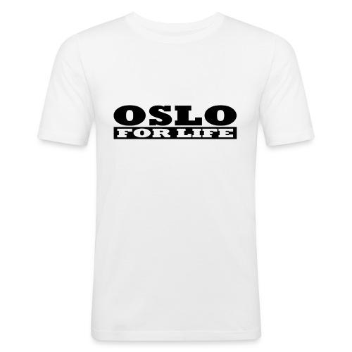 Oslo fürs Leben - Männer Slim Fit T-Shirt