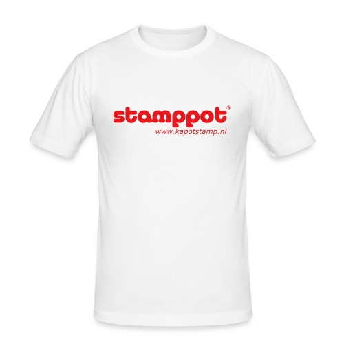 STAMPPOT - Mannen slim fit T-shirt