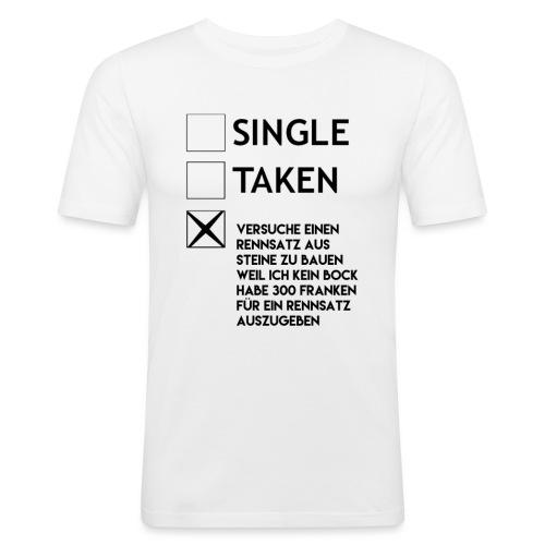 Rennsatz - Männer Slim Fit T-Shirt