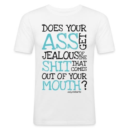 ass - Männer Slim Fit T-Shirt