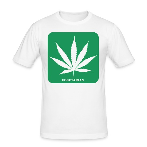 cannabis 154209 png - Männer Slim Fit T-Shirt