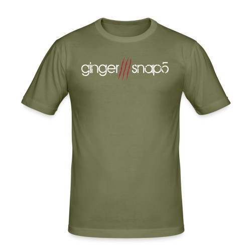 GS5 logo name - Men's Slim Fit T-Shirt