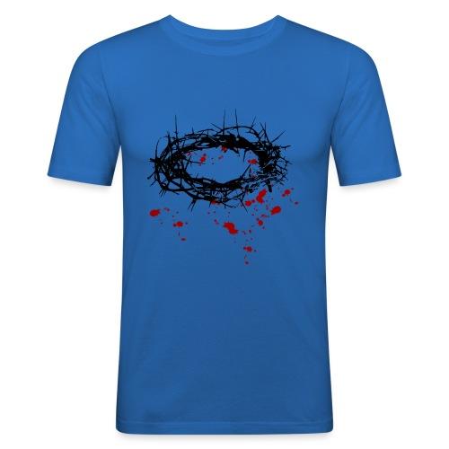 Dornenkrone - Männer Slim Fit T-Shirt