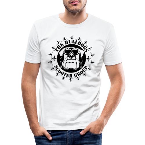Bulldogs Scooter Group Logo-Black - T-shirt près du corps Homme