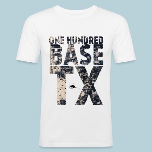 RATWORKS One Hundred Base - Men's Slim Fit T-Shirt