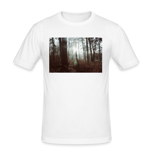 Forest lights. - Slim Fit T-shirt herr