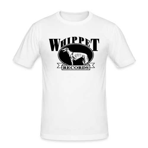 whippet logo - Men's Slim Fit T-Shirt