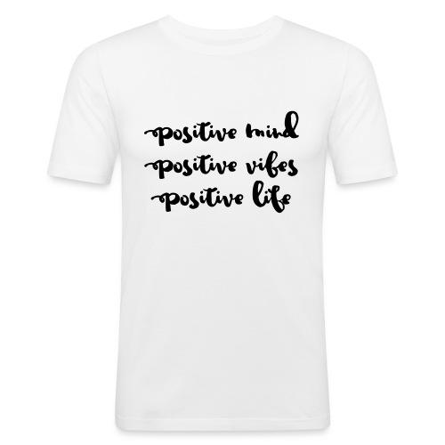 Positive Mind - Männer Slim Fit T-Shirt