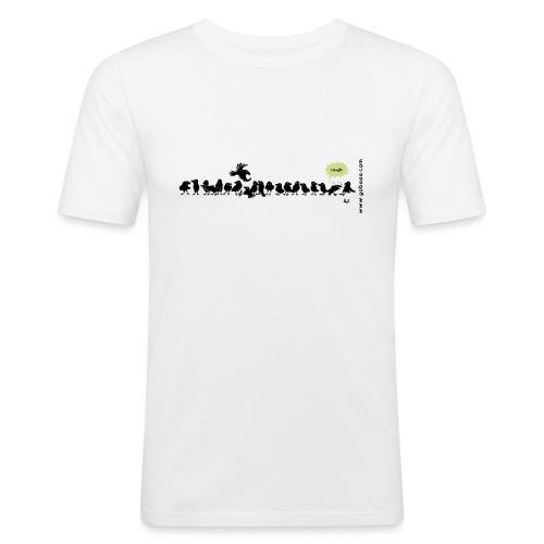 Corvids - es ist eine Menge! - Männer Slim Fit T-Shirt