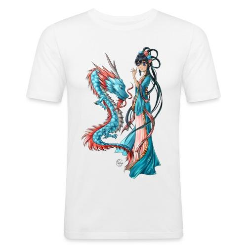 Blue Dragon - T-shirt près du corps Homme