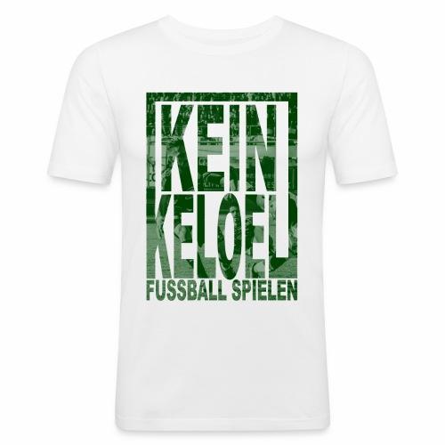 kein keloel - Mannen slim fit T-shirt