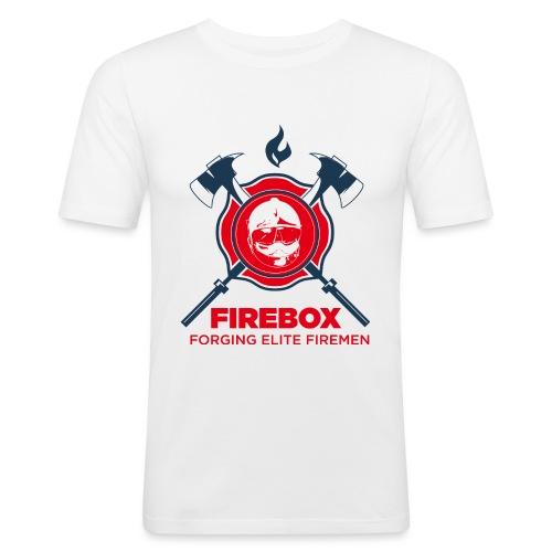 Firebox version fond clair png - T-shirt près du corps Homme