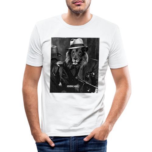 GANGHDD - Camiseta ajustada hombre