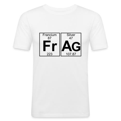 Fr-Ag (frag) - Full - Men's Slim Fit T-Shirt