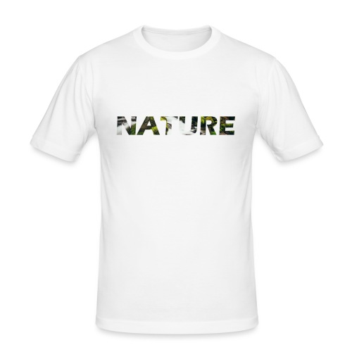 Nature - Mannen slim fit T-shirt