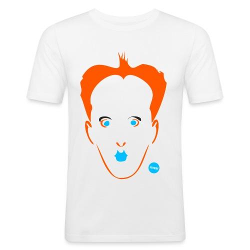 nomilight - Miesten tyköistuva t-paita