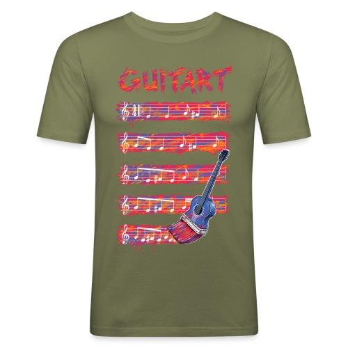 GuitArt - Men's Slim Fit T-Shirt