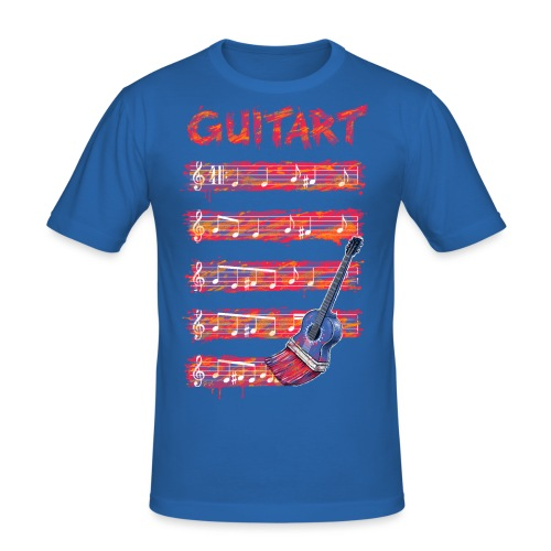 GuitArt - Men's Slim Fit T-Shirt