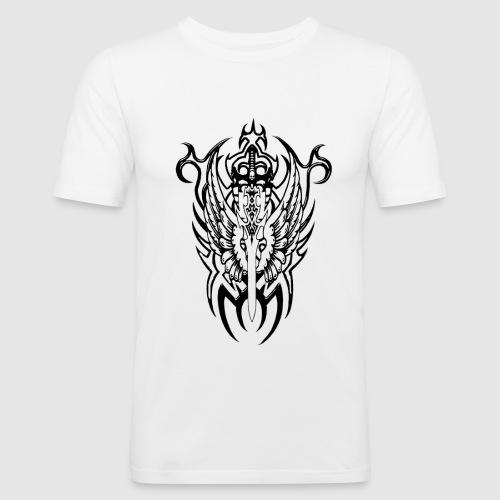 Tattoo Style - Männer Slim Fit T-Shirt