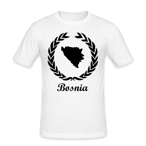 Connect ExYu Shirt Bosnia - Men's Slim Fit T-Shirt