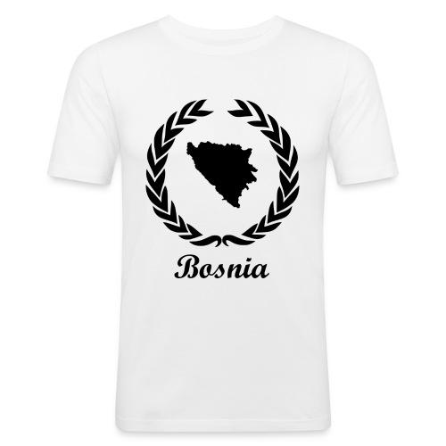 Connect ExYu Shirt Bosnia - Men's Slim Fit T-Shirt