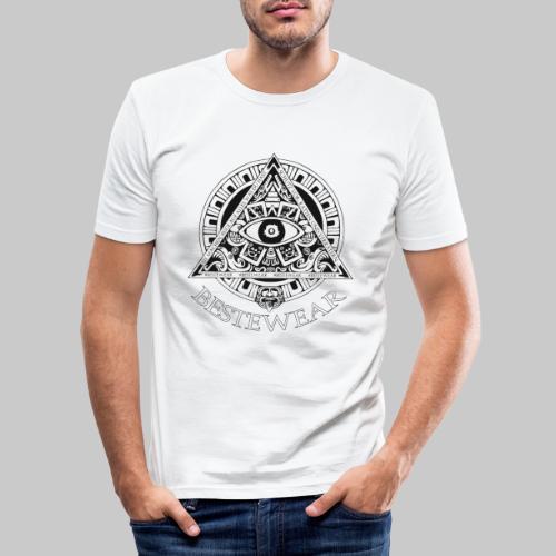 #Bestewear - AUGE - Männer Slim Fit T-Shirt