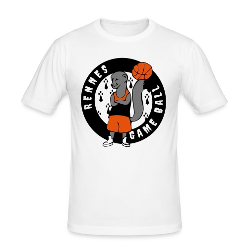 rennes game ball - T-shirt près du corps Homme