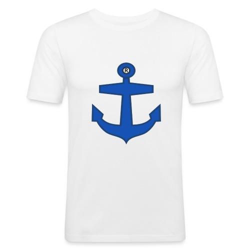BLUE ANCHOR CLOTHES - Men's Slim Fit T-Shirt