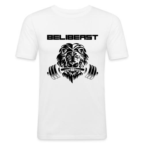 BELIB PNG BLACK - T-shirt près du corps Homme
