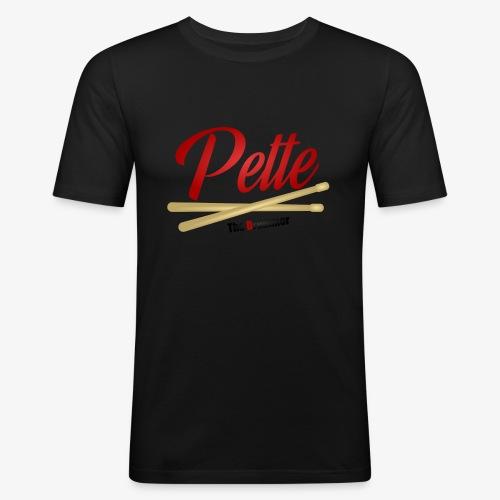 Pette the Drummer - Men's Slim Fit T-Shirt