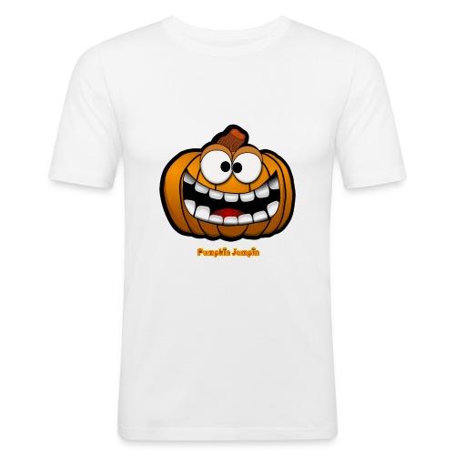 PumpkinJumpin 02 - Men's Slim Fit T-Shirt