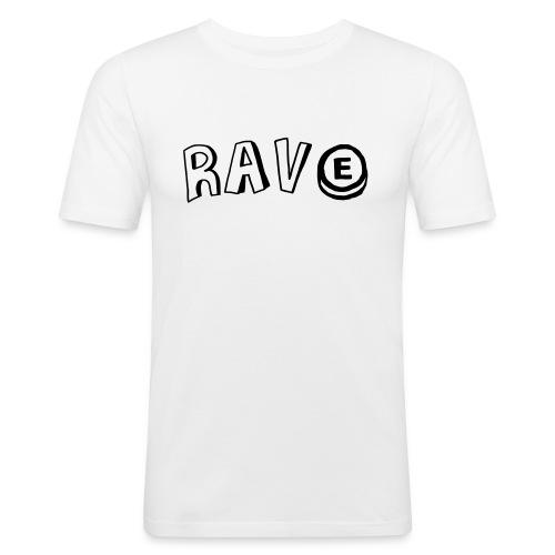 Rave E - Men's Slim Fit T-Shirt