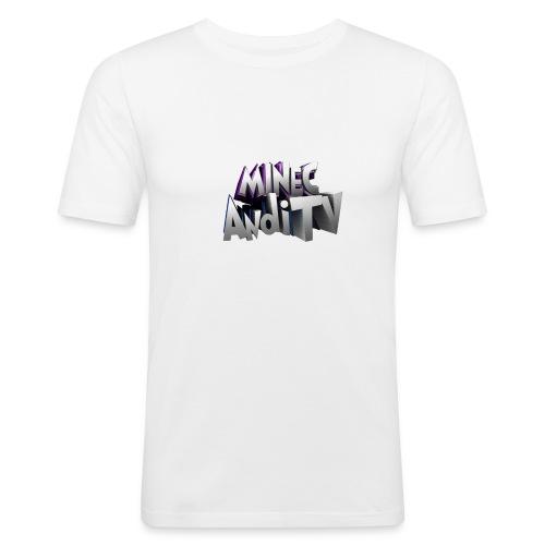 MinecAndiTV - Männer Slim Fit T-Shirt