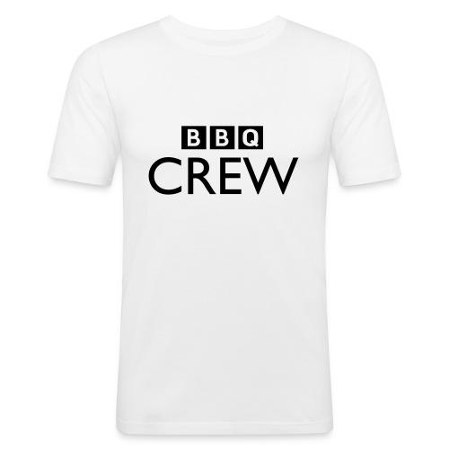 BBQ Crew - Mannen slim fit T-shirt