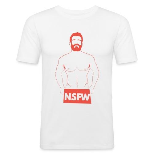 Not Safe For Work - Camiseta ajustada hombre
