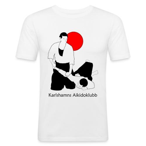 ikkyo med sol och text 4000 - Slim Fit T-shirt herr