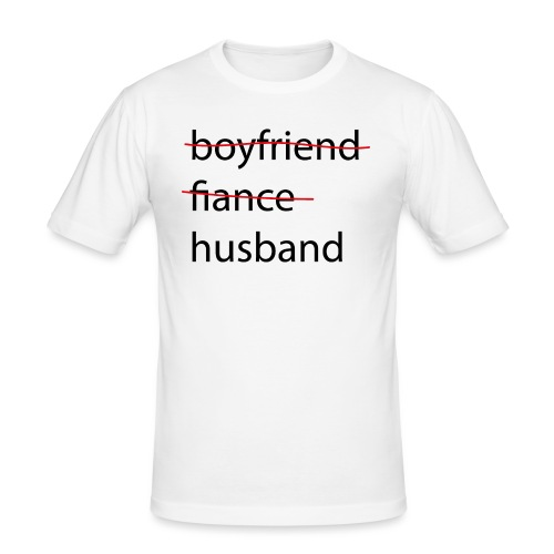 husband - Männer Slim Fit T-Shirt