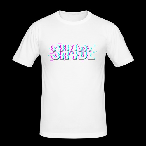 SH4DE. - Men's Slim Fit T-Shirt