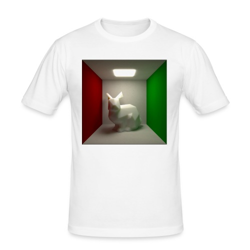Bunny in a Box - Men's Slim Fit T-Shirt