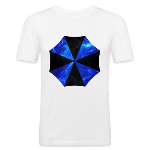 USCORP Logo - Männer Slim Fit T-Shirt