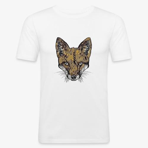 Fuchs - Männer Slim Fit T-Shirt