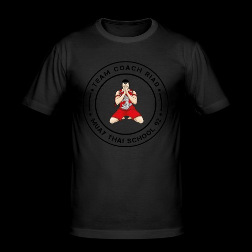 MTS92 TEAM COACH RIAD ROND - T-shirt près du corps Homme