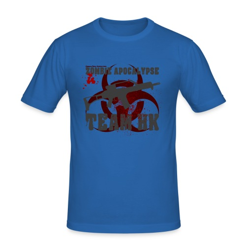 Zombie Apocalypse Team H&K - Männer Slim Fit T-Shirt