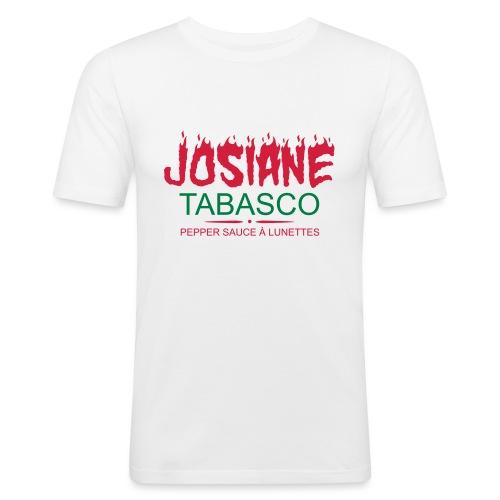 josiane tabasco - T-shirt près du corps Homme