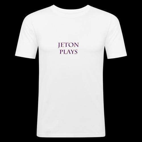 JetonPlays - Mannen slim fit T-shirt