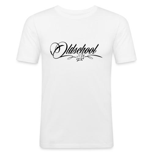 Oldschool Iron Cross - Männer Slim Fit T-Shirt