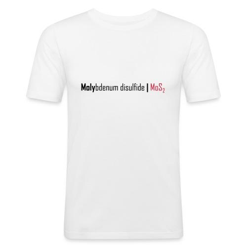 Molybdenum Disulfide - Men's Slim Fit T-Shirt
