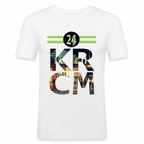 KRCM - Mannen slim fit T-shirt