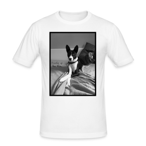 Piratethebasenji - T-shirt près du corps Homme